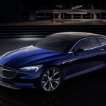 3/4 View of Buick Avista