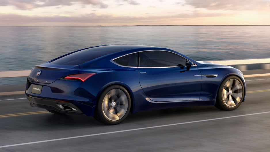 Men And Machines Buick Avista Sport Coupe Wins Detroit Show - Coupe sports cars